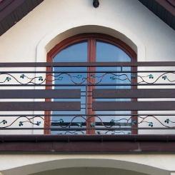 Кованый балкон КБ_77