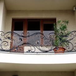 Кованый балкон КБ_78