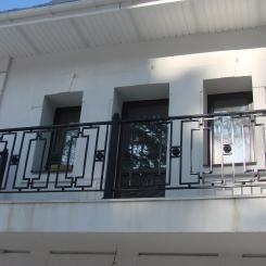 Кованый балкон КБ_81