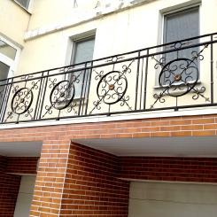 Кованый балкон КБ_82