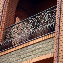Кованый балкон КБ_83