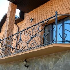 Кованый балкон КБ_89