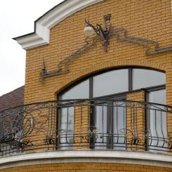 Кованый балкон КБ_91