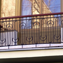 Кованый балкон КБ_94