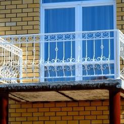 Кованый балкон КБ_96
