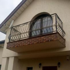 Кованый балкон КБ_99
